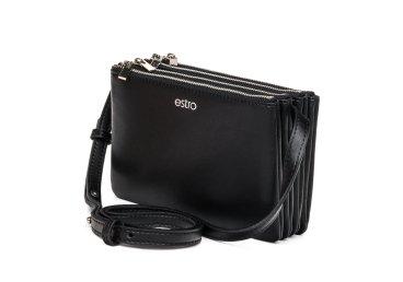 Сумка mini Estro чёрная er00105170