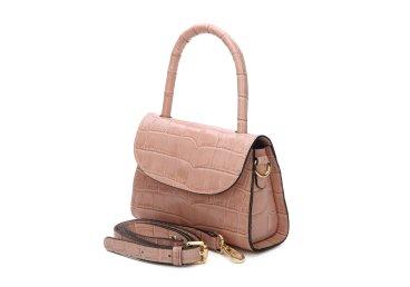 Сумка mini bag кожаная Estro розовая ER00107459