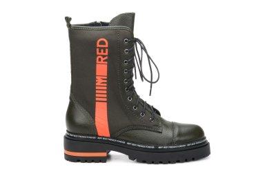 Ботинки женские Estro тёмно-зелёные ER00105904