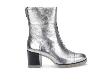 Ботинки женские демисезонные Estro серебрянные ER00105692