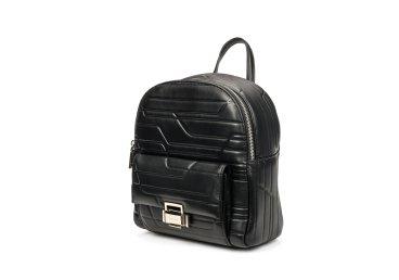 Рюкзак кожаный Cromia чёрный ER00105797