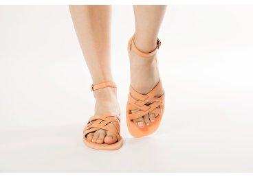 Босоножки женские Estro оранжевые ER00107630