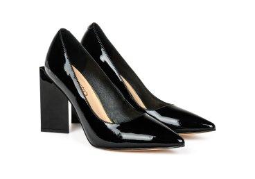 Туфли лаковые estro чёрные ER00105454