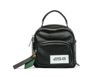 Рюкзак кожаный ES 8 чёрный ER00105336