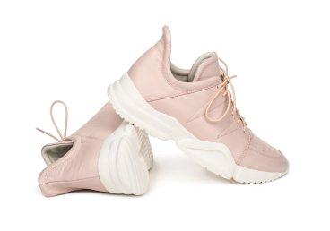 Кроссовки кожаные Estro розовые ER00105205