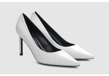 Туфли-лодочки estro белые ER00105488