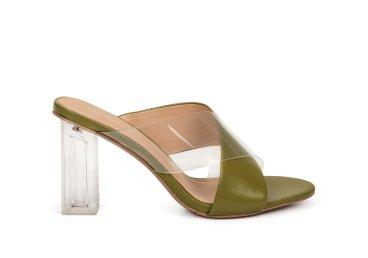 Босоножки женские Estro зелёные ER00107467
