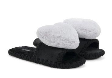 Тапочки женские Estro чёрные ER00106141