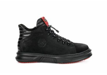 Ботинки мужские estro чёрные ER00105534