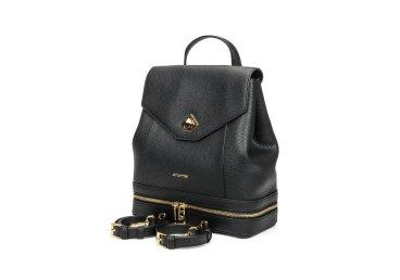 Рюкзак кожаный Cromia чёрный ER00105789