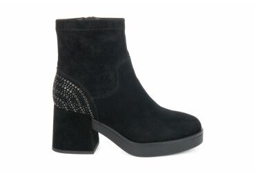 Ботинки зимние estro чёрные ER00105573