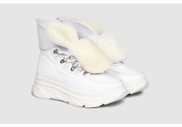 Ботинки женские estro белые ER00105473