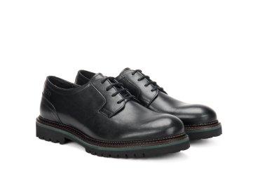 Туфли дерби Estro чёрные ER00106175