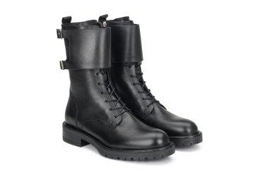 Ботинки женские демисезонные Estro чёрные ER00108007
