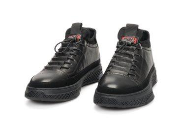 Демисизонные черевики чоловічі Estro чорні ER00106275