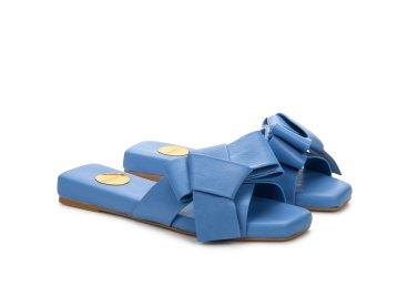 Шлепанцы женские Estro голубые ER00107535