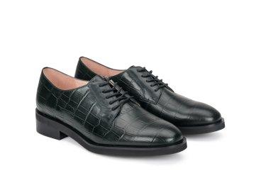 Туфли женские Estro тёмно-зелёные ER00107980