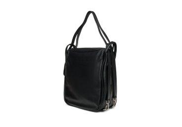 Сумка шоппер кожаная черная Estro er00105254