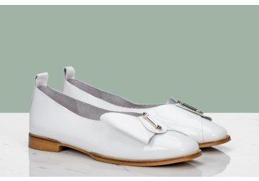 Балетки жіночі Estro білі ER00107338