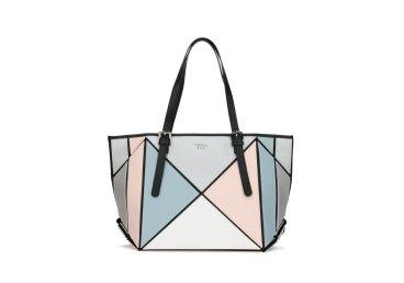 Большая сумка шопер из телячьей кожи Tosca Blu er00104680