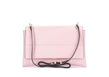 Кожаная сумка Estro розовая er00102876