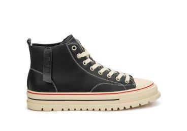 Кеды кожаные ES8 черные ER00106923