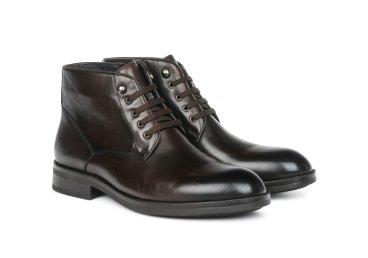Ботинки мужские estro тёмно-коричневые ER00105439