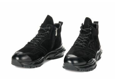 Ботинки estro чёрные ER00105516