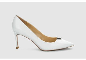 Туфли-лодочки estro белые ER00105512