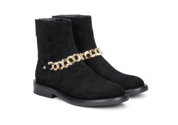 Ботинки женские демисезонные Estro чёрные ER00108055