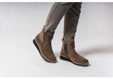 Ботинки зимние Marzetti серые er00103657