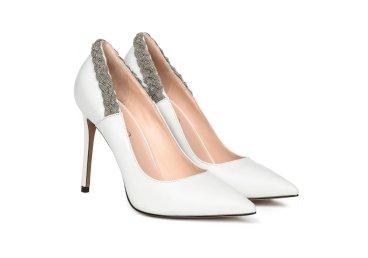 Туфли-лодочки estro белые ER00105453