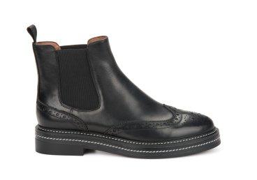 Ботинки челси на низком ходу