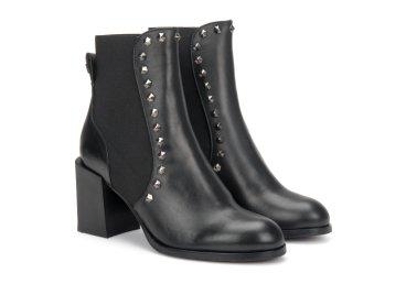 Ботинки демисезонные Gaia Bardelli чёрные ER00106300