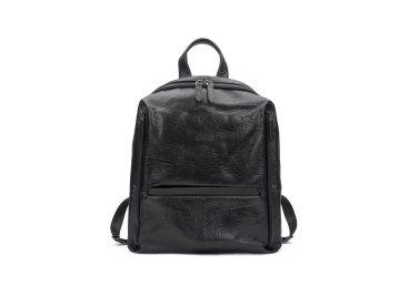 Рюкзак мужской кожаный Estro чёрный ER00107879