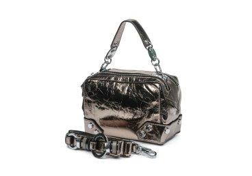 Сумка mini bag кожаная Estro бронзовая ER00105330