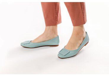 Туфли женские Estro бирюзовые ER00107265