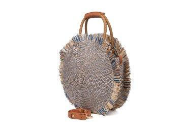 сумка плетеная с ремешком через плечо Estro ER00105308
