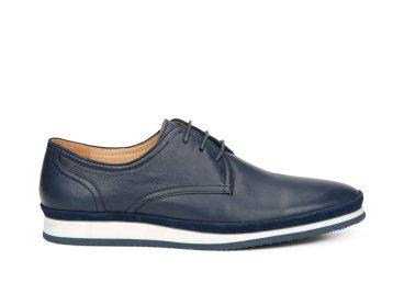Туфли мужские Estro тёмно-синие ER00107291