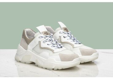 Кроссовки летние женские ES8 белые ER00106663
