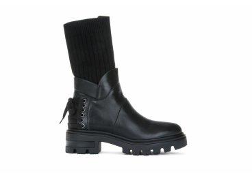 Ботинки женские Mally чёрные ER00103542