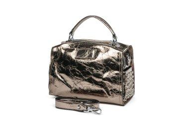 Сумка mini bag кожаная Estro бронзовая er00105334
