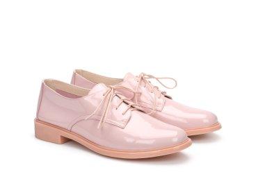 Туфли дерби женские Estro розовые ER00107188