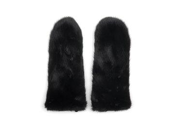 рукавицы кожаные женские