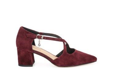 Туфлі жіночі Estro бордові ER00106513