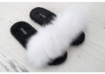 Тапочки женские Estro чёрные ER00106145