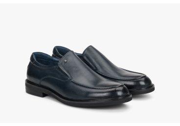 Туфлі сині чоловічі Estro ER00108285