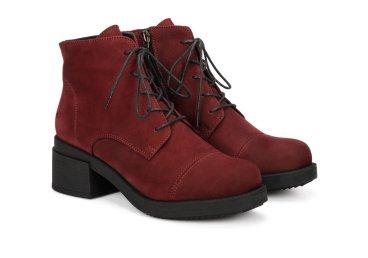Ботинки зимние Estro бордовые ER00106296