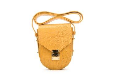 Сумочка mini-bag шкіряна Estro жовта ER00107718