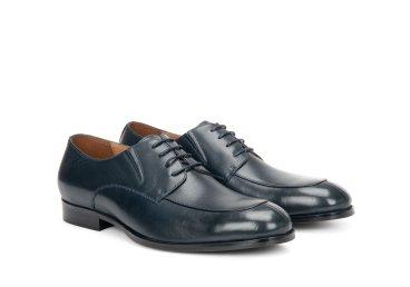 Туфли дерби Estro тёмно-синие ER00106689
